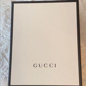 Empty Gucci Sneaker Box